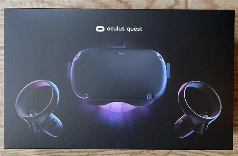 Oculus Quest из короби