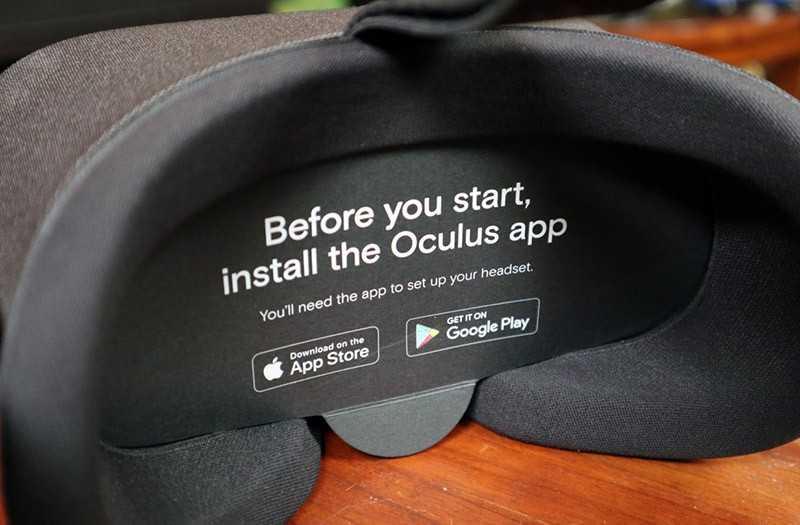 Oculus Quest удобство