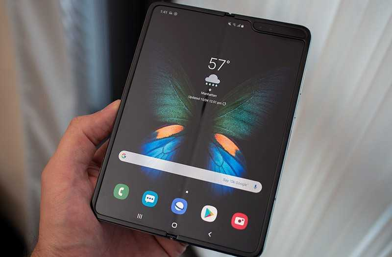 Samsung Galaxy Fold батарея