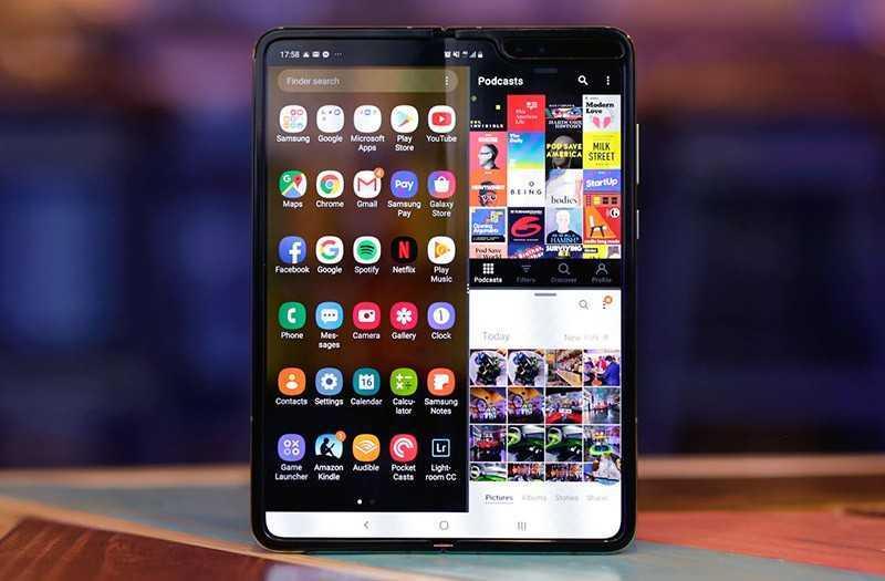 Samsung Galaxy Fold система