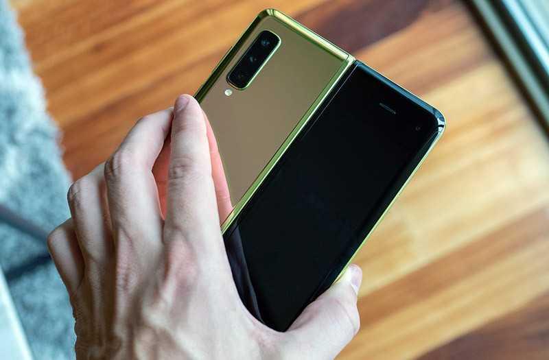 Samsung Galaxy Fold камкры