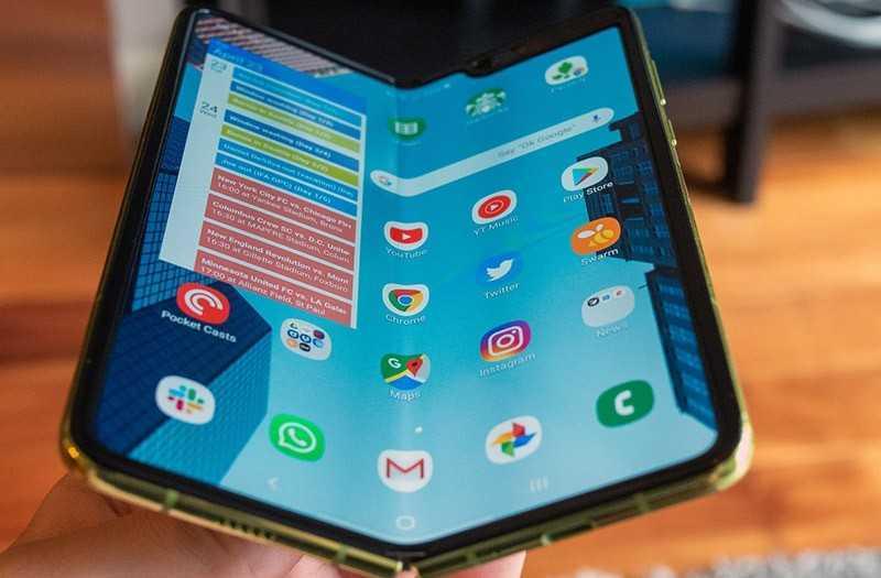 Samsung Galaxy Fold складной телефон