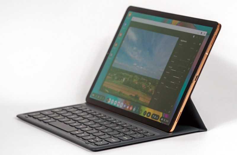 Samsung Galaxy Tab S5e в работе