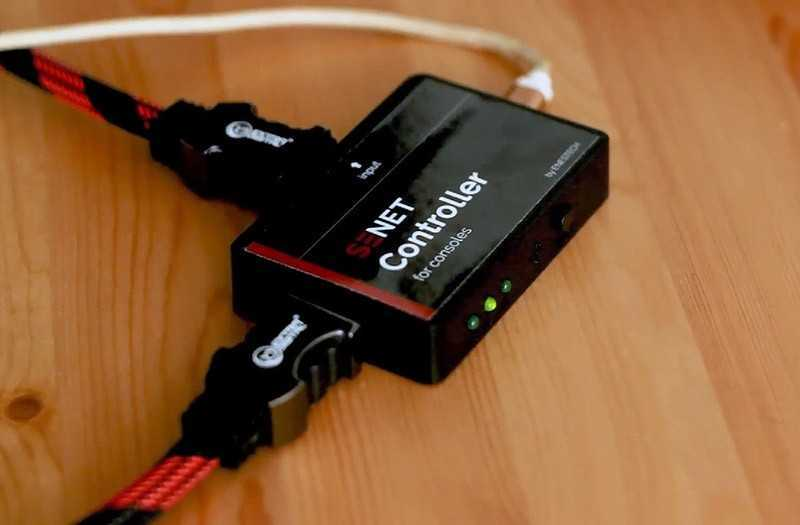 Подключение SENET controller