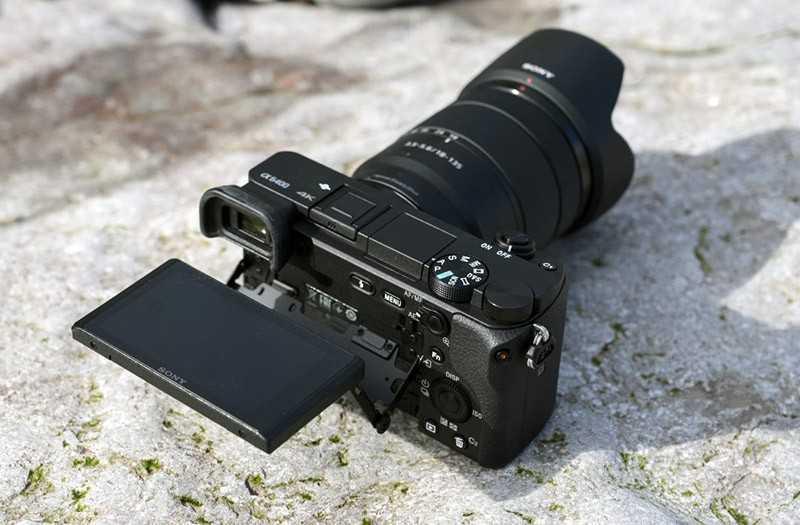 Sony A6400 фотоаппарат