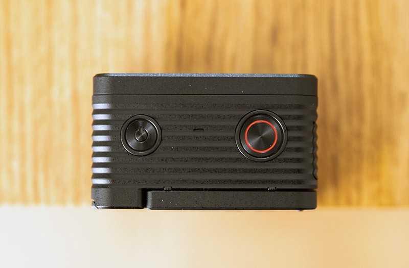 Sony RX0 II сверху