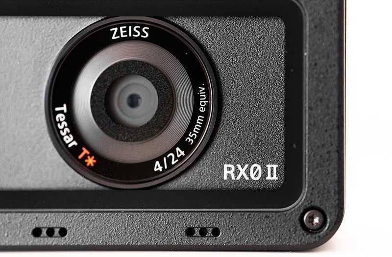 Sony RX0 II объектив
