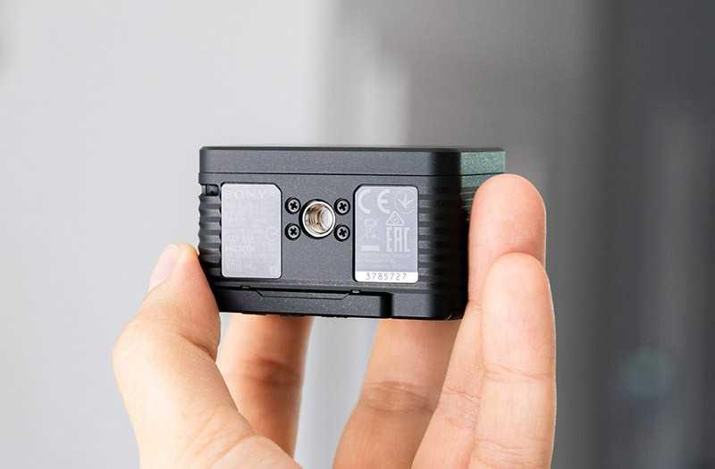 Sony RX0 II резьба штатива
