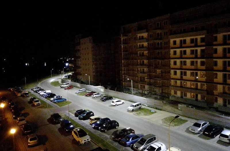 Alcatel 1S ночная съёмка