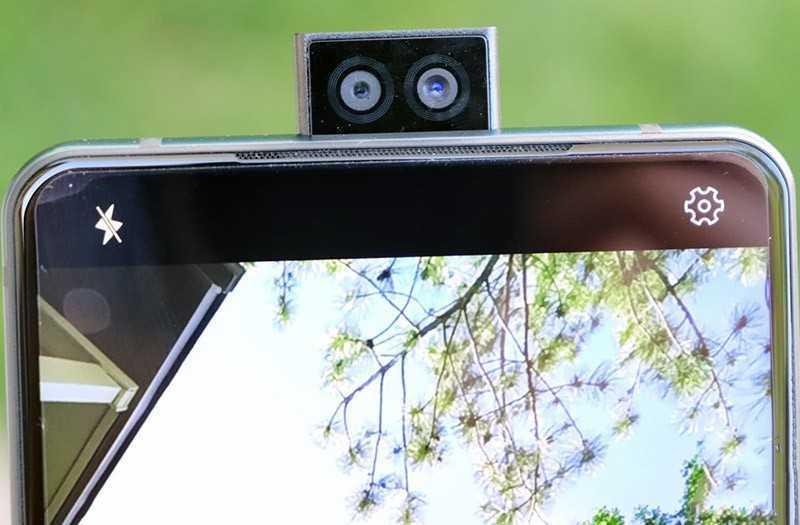 Elephone U2 всплывающие камеры