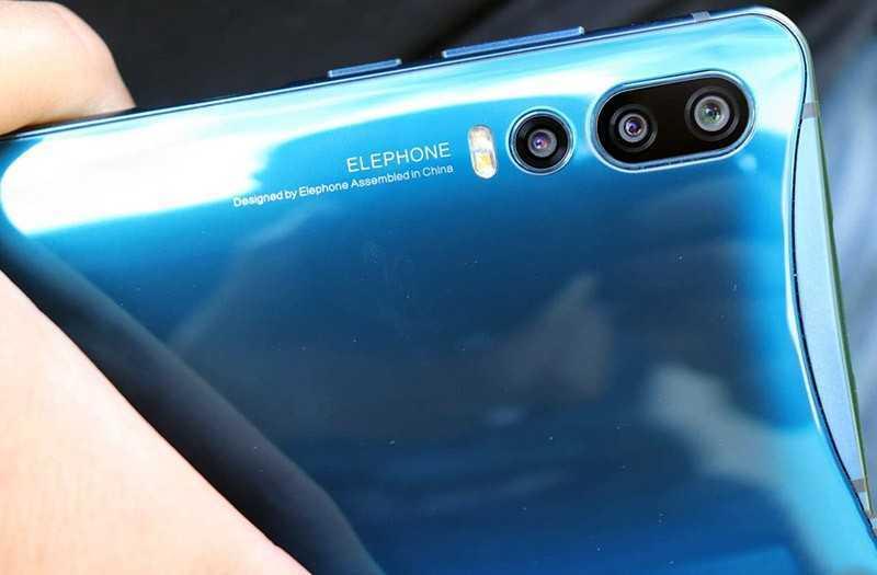 Elephone U2 камеры