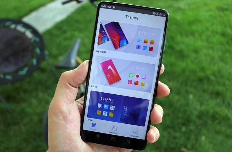 Elephone U2 экран