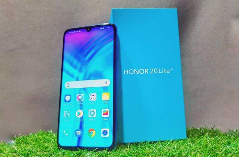 Характеристики Honor 20 Lite