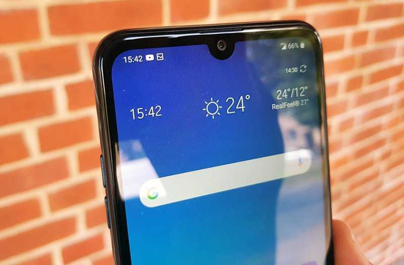 LG Q60 экран