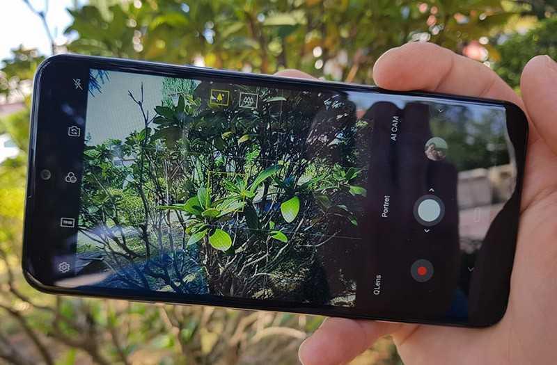 LG Q60 съёмка