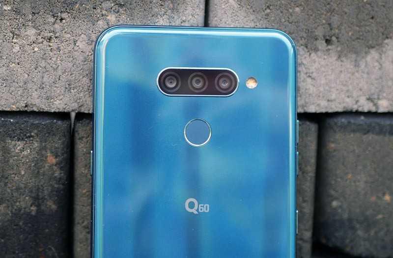 LG Q60 камеры