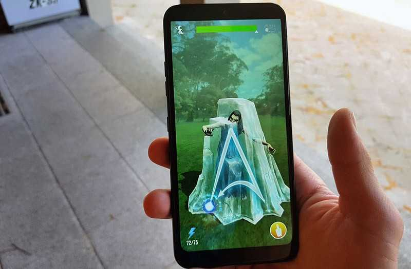 LG Q60 дисплей