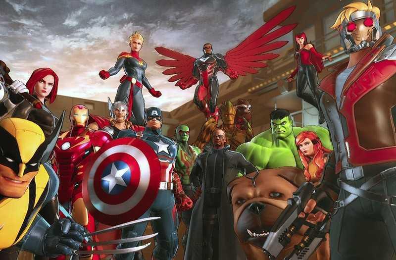 Marvel Ultimate Alliance 3 для Nintendo Switch