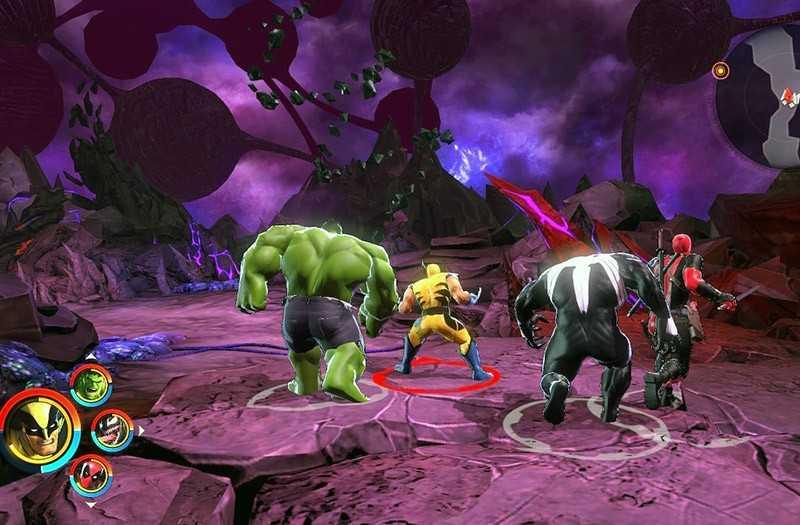 Marvel Ultimate Alliance 3 выходит за рамки известных персонажей