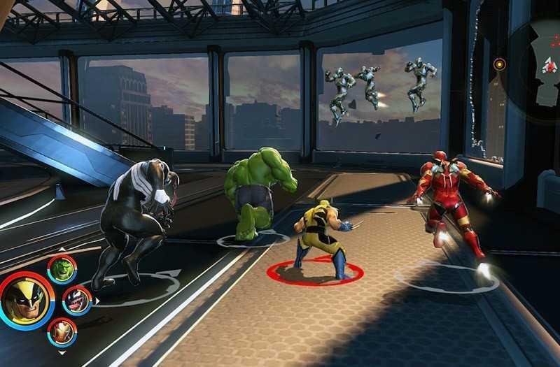 Marvel Ultimate Alliance 3 геймплей