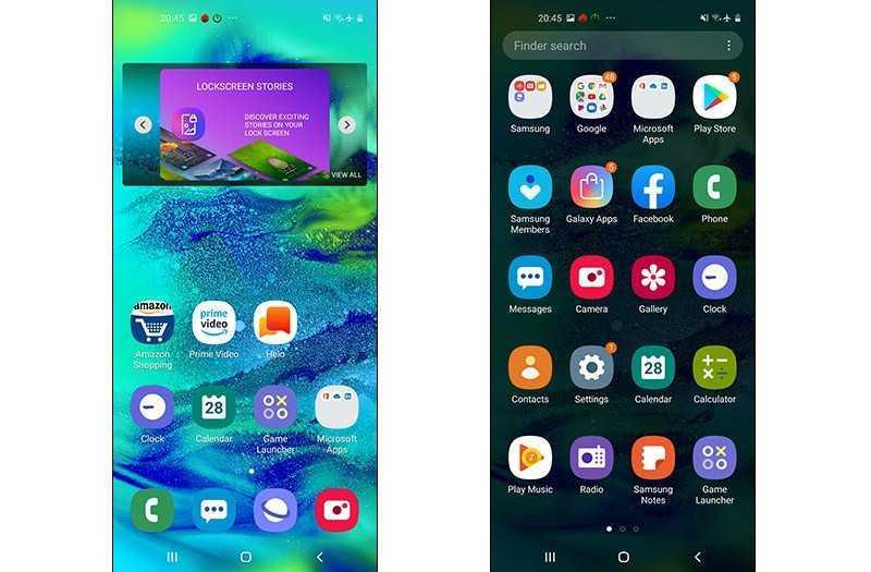 Samsung Galaxy M40 ПО