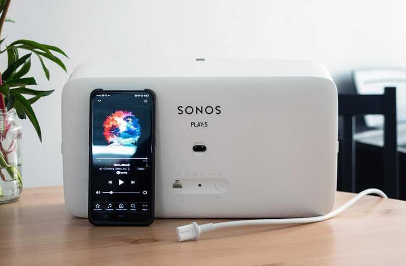 Sonos Play:5 разъёмы