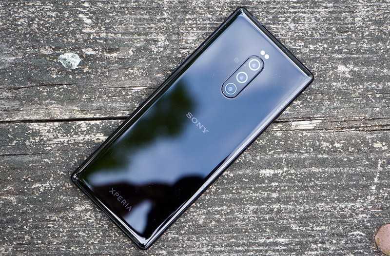 Sony Xperia 1 конструкция