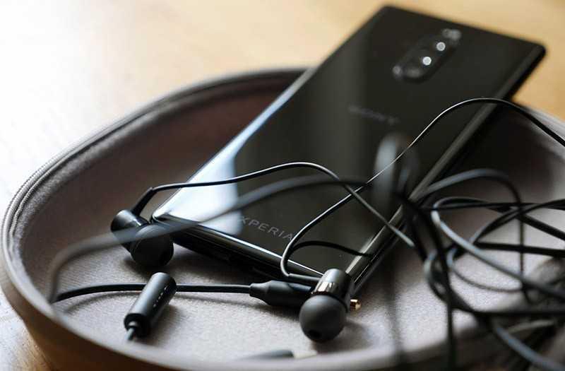 Sony Xperia 1 звук