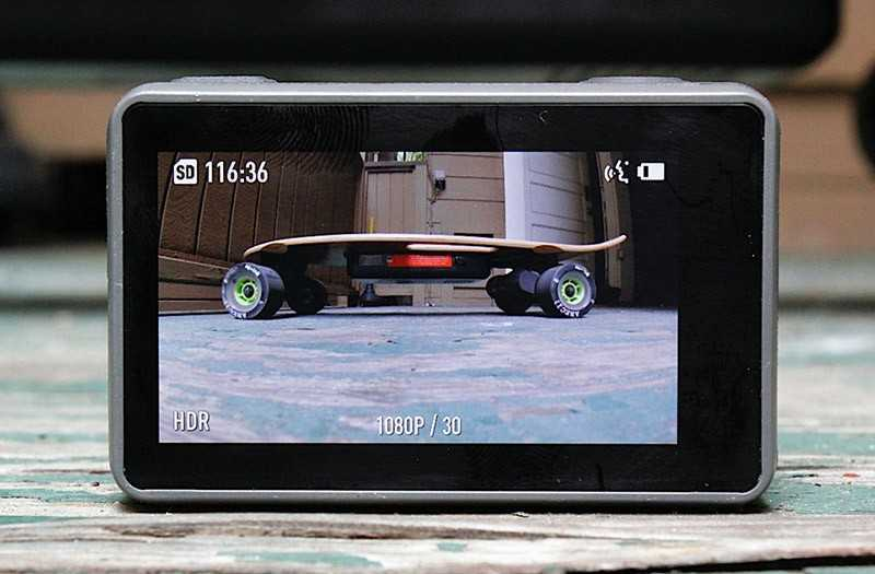 DJI Osmo Action экран