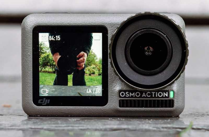 Особенности экшн-камеры DJI