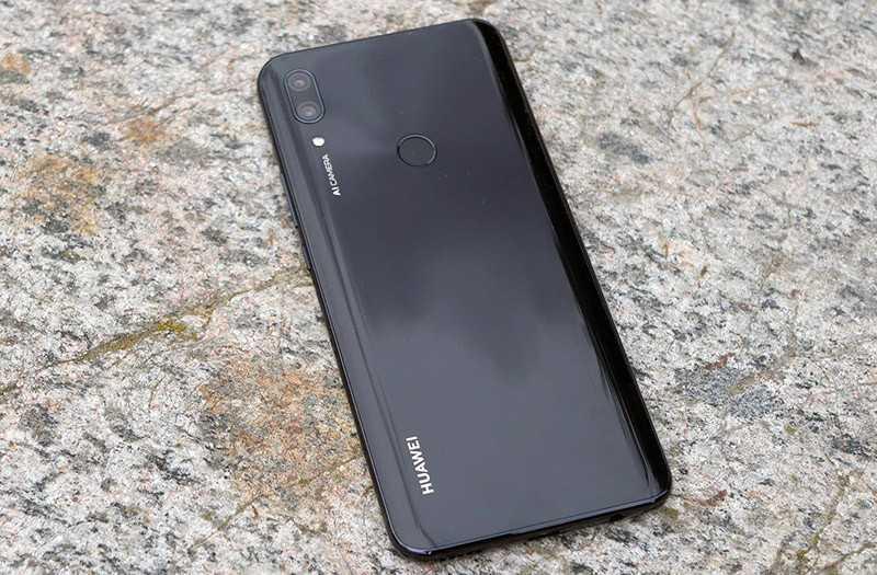 Huawei P Smart Z сзади