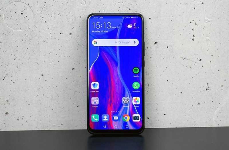 Huawei P Smart Z спереди