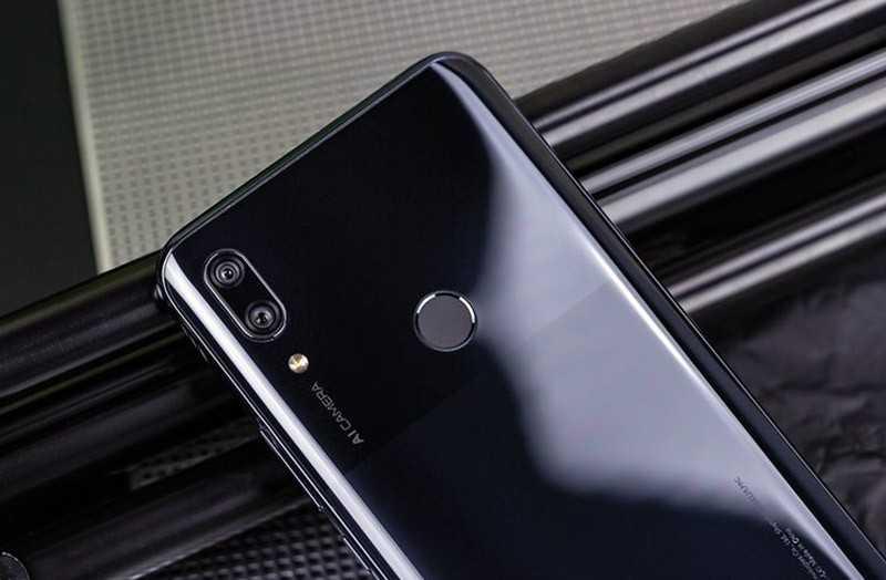 Huawei P Smart Z сканер отпечатков