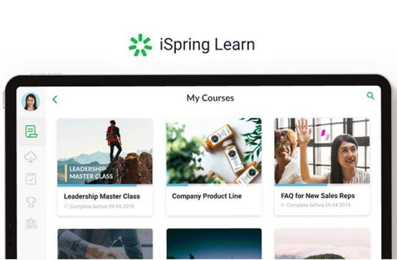 Система для обучения и тестирования персонала iSpring Learn