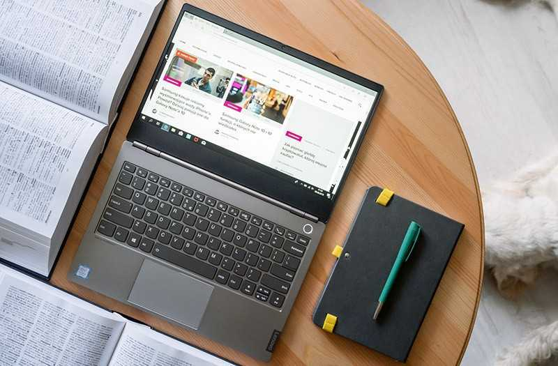 Lenovo ThinkBook 13s дисплей