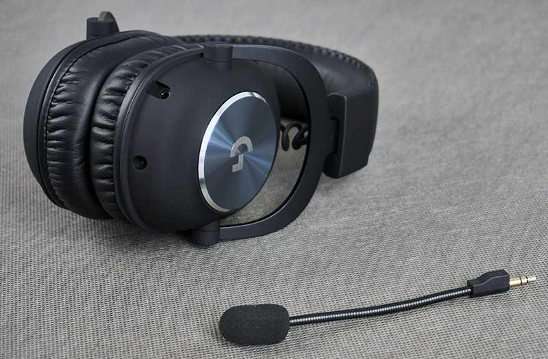 Logitech G PRO X качество микрофона