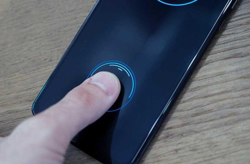 Moto Z сканер отпечатка