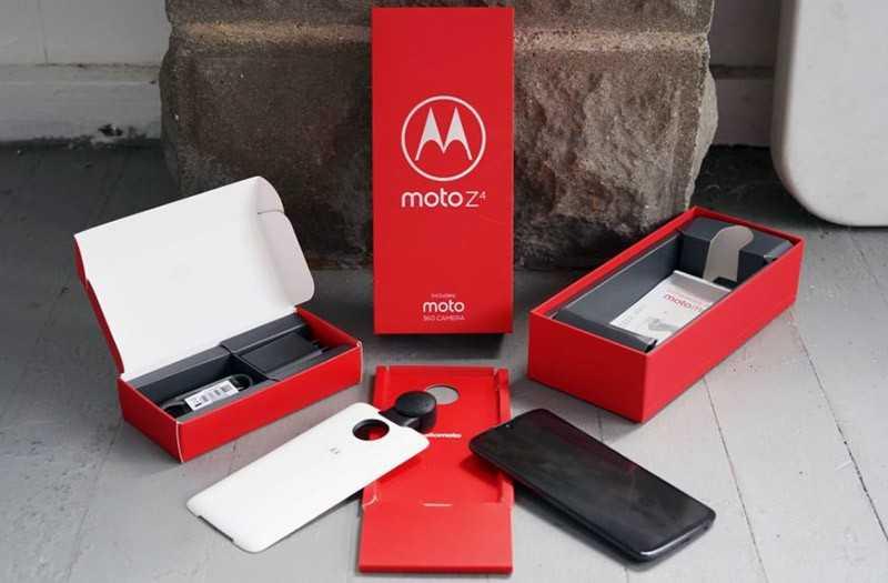 Moto Z из коробки
