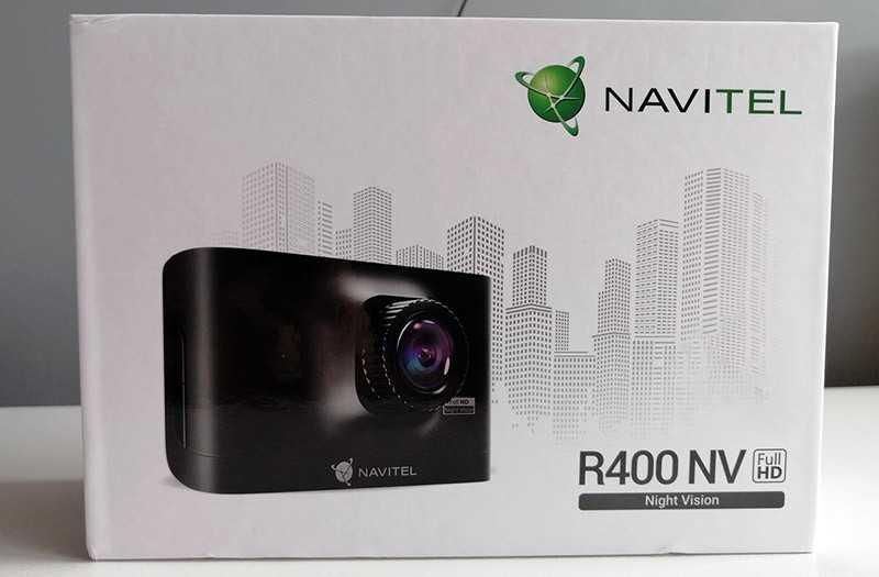 Navitel R400 NV из коробки
