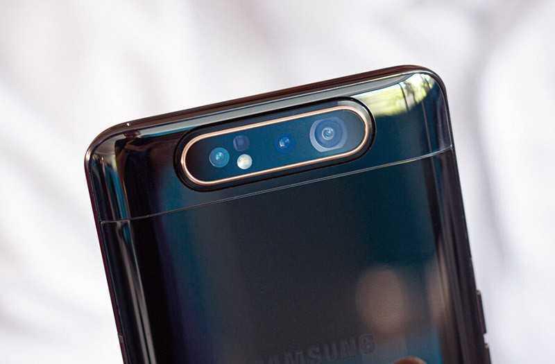 Samsung Galaxy A80 камеры