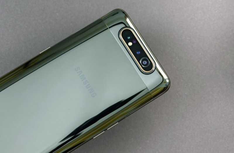 Samsung Galaxy A80 тесты