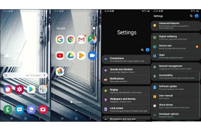 Samsung Galaxy A80 ПО