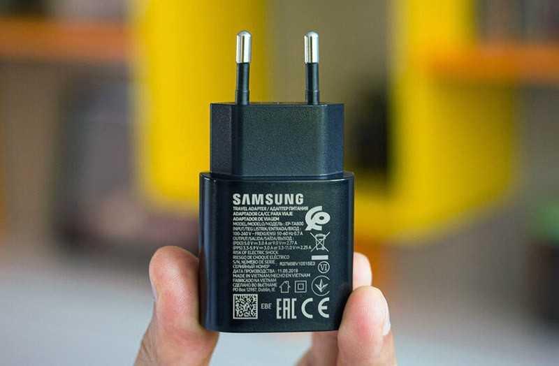 Samsung Galaxy A80 зарядка