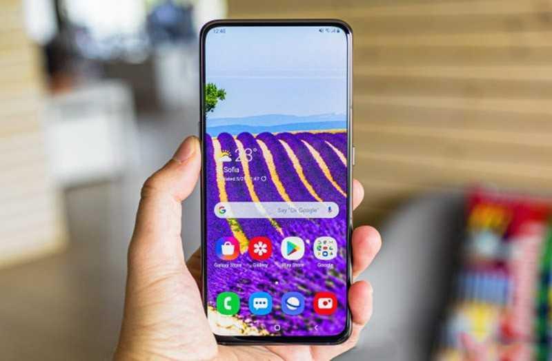 Samsung Galaxy A80 дисплей