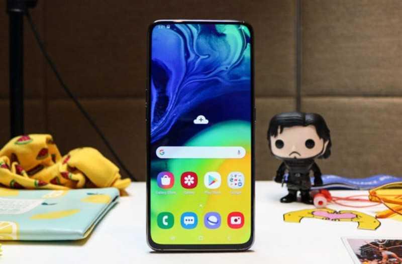 Обзор Samsung Galaxy A80: блестящая идея, средний результат — Отзывы TehnObzor
