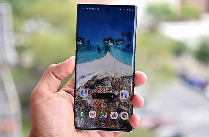 Samsung Galaxy Note 10 Plus дизайн