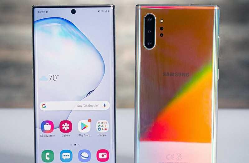 Телефон Samsung Galaxy Note 10 Plus