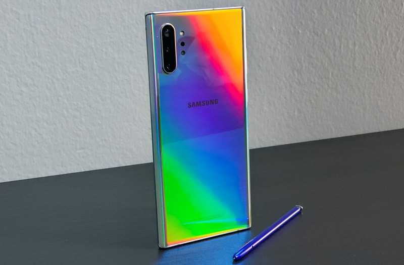 Samsung Galaxy Note 10 Plus качество камер