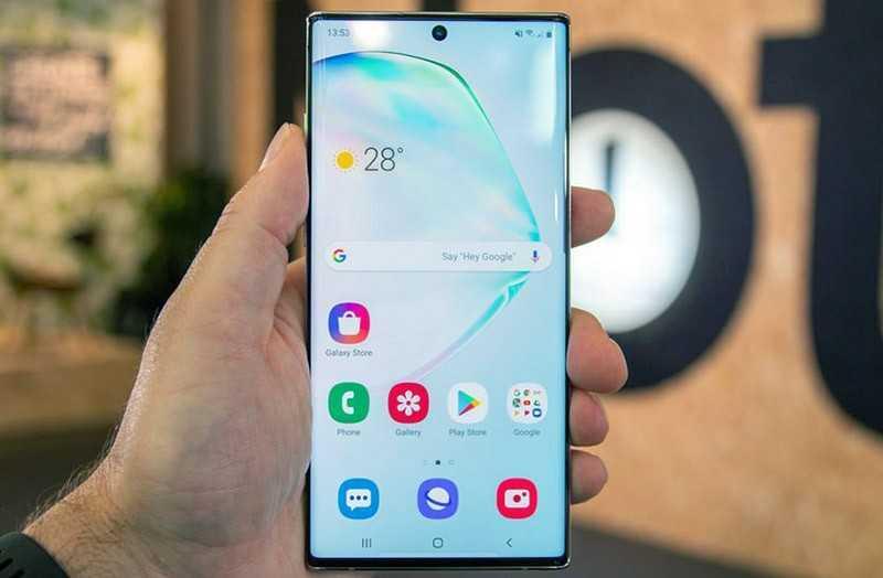 Samsung Galaxy Note 10 Plus ОС