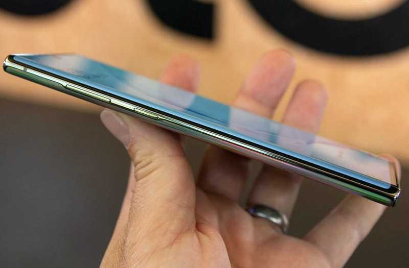 Samsung Galaxy Note 10 Plus управление